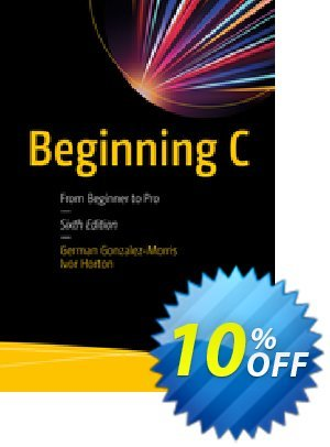 Beginning C (Gonzalez-Morris) discount coupon Beginning C (Gonzalez-Morris) Deal - Beginning C (Gonzalez-Morris) Exclusive Easter Sale offer for iVoicesoft