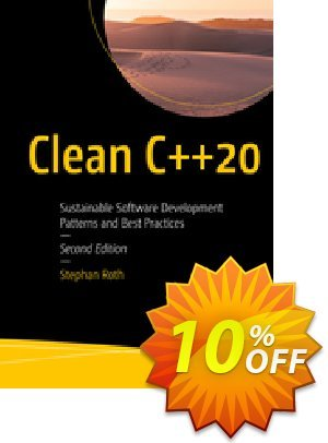 Clean C++20 (Roth) discount coupon Clean C++20 (Roth) Deal - Clean C++20 (Roth) Exclusive Easter Sale offer for iVoicesoft