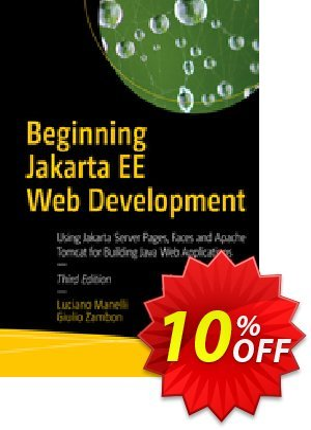 Beginning Jakarta EE Web Development (Manelli) discount coupon Beginning Jakarta EE Web Development (Manelli) Deal - Beginning Jakarta EE Web Development (Manelli) Exclusive Easter Sale offer for iVoicesoft
