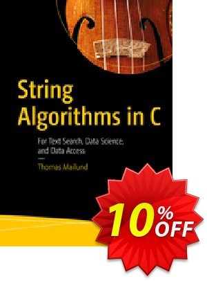 String Algorithms in C (Mailund) discount coupon String Algorithms in C (Mailund) Deal - String Algorithms in C (Mailund) Exclusive Easter Sale offer for iVoicesoft