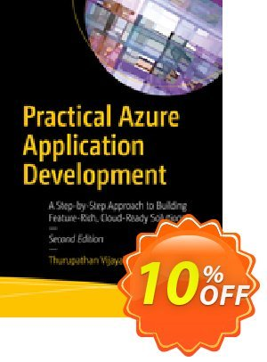 Practical Azure Application Development (Vijayakumar) Coupon discount Practical Azure Application Development (Vijayakumar) Deal. Promotion: Practical Azure Application Development (Vijayakumar) Exclusive Easter Sale offer for iVoicesoft