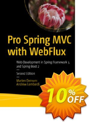 Pro Spring MVC with WebFlux (Deinum) discount coupon Pro Spring MVC with WebFlux (Deinum) Deal - Pro Spring MVC with WebFlux (Deinum) Exclusive Easter Sale offer for iVoicesoft