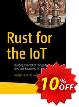 Rust for the IoT (Nusairat) discount coupon Rust for the IoT (Nusairat) Deal - Rust for the IoT (Nusairat) Exclusive Easter Sale offer for iVoicesoft