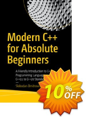 Modern C++ for Absolute Beginners (Dmitrovic) Coupon discount Modern C++ for Absolute Beginners (Dmitrovic) Deal. Promotion: Modern C++ for Absolute Beginners (Dmitrovic) Exclusive Easter Sale offer for iVoicesoft
