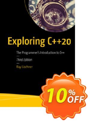 Exploring C++20 (Lischner) discount coupon Exploring C++20 (Lischner) Deal - Exploring C++20 (Lischner) Exclusive Easter Sale offer for iVoicesoft