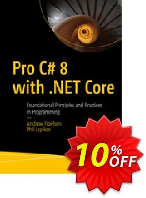 Pro C# 8 with .NET Core (Troelsen) 프로모션 코드 Pro C# 8 with .NET Core (Troelsen) Deal 프로모션: Pro C# 8 with .NET Core (Troelsen) Exclusive Easter Sale offer for iVoicesoft