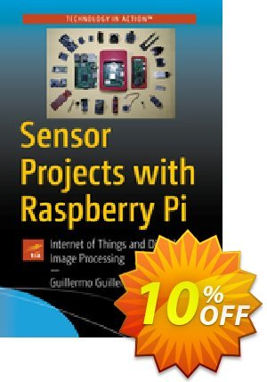 Sensor Projects with Raspberry Pi (Guillen) 프로모션 코드 Sensor Projects with Raspberry Pi (Guillen) Deal 프로모션: Sensor Projects with Raspberry Pi (Guillen) Exclusive Easter Sale offer for iVoicesoft