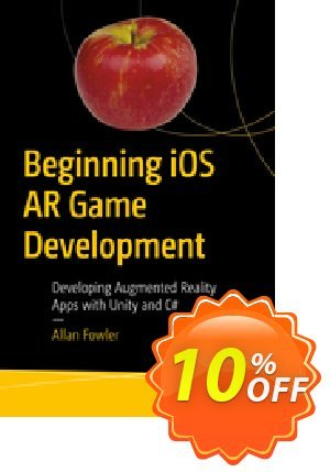 Beginning iOS AR Game Development (Fowler) discount coupon Beginning iOS AR Game Development (Fowler) Deal - Beginning iOS AR Game Development (Fowler) Exclusive Easter Sale offer for iVoicesoft