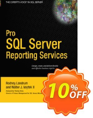 Pro SQL Server Reporting Services (Landrum) 優惠券,折扣碼 Pro SQL Server Reporting Services (Landrum) Deal,促銷代碼: Pro SQL Server Reporting Services (Landrum) Exclusive Easter Sale offer for iVoicesoft