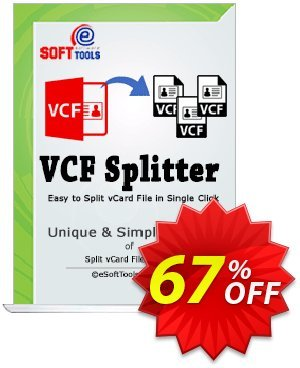 eSoftTools vCard Splitter Coupon, discount Coupon code eSoftTools vCard Splitter - Personal License. Promotion: eSoftTools vCard Splitter - Personal License offer from eSoftTools Software