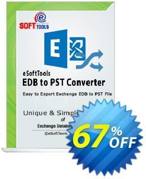 eSoftTools EDB to PST Converter - Enterprise License Coupon, discount Coupon code eSoftTools EDB to PST Converter - Enterprise License. Promotion: eSoftTools EDB to PST Converter - Enterprise License offer from eSoftTools Software