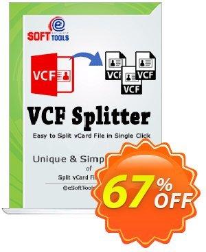 eSoftTools vCard Splitter - Corporate License Coupon, discount Coupon code eSoftTools vCard Splitter - Corporate License. Promotion: eSoftTools vCard Splitter - Corporate License offer from eSoftTools Software