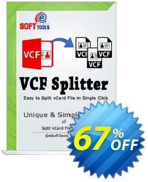 eSoftTools vCard Splitter - Enterprise License Coupon, discount Coupon code eSoftTools vCard Splitter - Enterprise License. Promotion: eSoftTools vCard Splitter - Enterprise License offer from eSoftTools Software