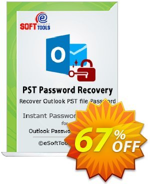 eSoftTools PST Password Recovery Coupon, discount Coupon code eSoftTools PST Password Recovery - Personal License. Promotion: eSoftTools PST Password Recovery - Personal License offer from eSoftTools Software