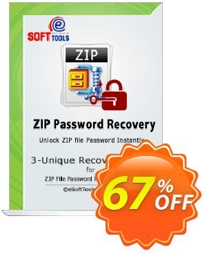 eSoftTools Zip Password Recovery - Enterprise License Coupon, discount Coupon code eSoftTools Zip Password Recovery - Enterprise License. Promotion: eSoftTools Zip Password Recovery - Enterprise License offer from eSoftTools Software