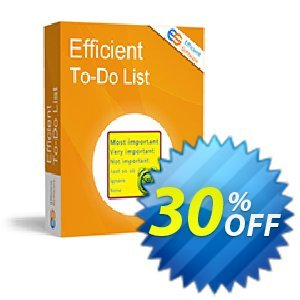 Efficient To-Do List discount coupon Efficient To-Do List Imposing promotions code 2020 - Imposing promotions code of Efficient To-Do List 2020