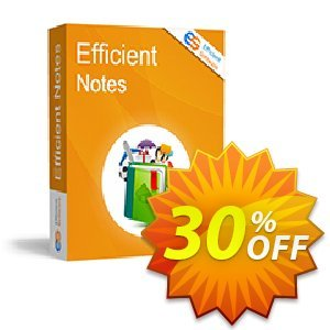 Efficient Notes Coupon, discount Efficient Notes Stirring sales code 2020. Promotion: Stirring sales code of Efficient Notes 2020
