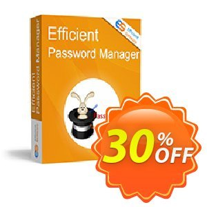 Efficient Password Manager Pro Coupon, discount Efficient Password Manager Pro Best offer code 2020. Promotion: Best offer code of Efficient Password Manager Pro 2020