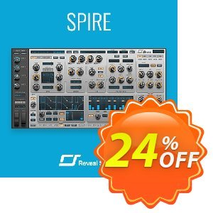 Spire Synthesizer + Sound Bundle 優惠券,折扣碼 Spire Complete Bundle (Standart) Stirring sales code 2020,促銷代碼: Stirring sales code of Spire Complete Bundle (Standart) 2020