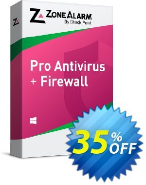 ZoneAlarm Pro Antivirus + Firewall (10 PCs License) discount coupon 35% OFF ZoneAlarm Pro Antivirus + Firewall (10 PCs License), verified - Amazing offer code of ZoneAlarm Pro Antivirus + Firewall (10 PCs License), tested & approved
