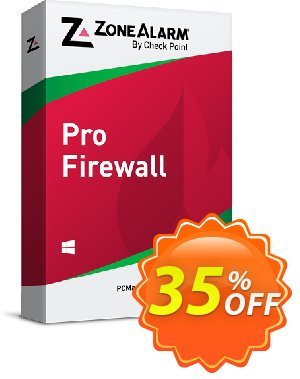 ZoneAlarm Pro Firewall (3 PCs License) discount coupon 35% OFF ZoneAlarm Pro Firewall (3 PCs License), verified - Amazing offer code of ZoneAlarm Pro Firewall (3 PCs License), tested & approved
