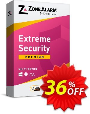 ZoneAlarm Extreme Security (50 Devices) discount coupon 36% OFF ZoneAlarm Extreme Security (50 Devices), verified - Amazing offer code of ZoneAlarm Extreme Security (50 Devices), tested & approved