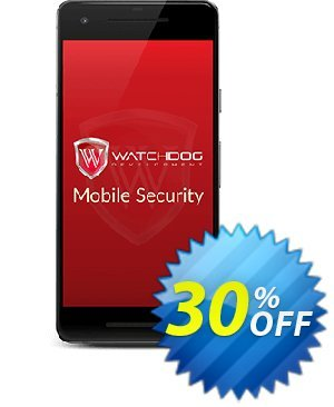 Watchdog Mobile Security Coupon, discount 30% OFF Watchdog Mobile Security, verified. Promotion: Awesome offer code of Watchdog Mobile Security, tested & approved