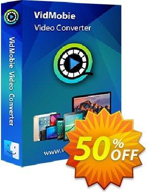VidMobie Video Converter for Mac (1 Year Subscription) discount coupon Coupon code VidMobie Video Converter for Mac (1 Year Subscription) - VidMobie Video Converter for Mac (1 Year Subscription) offer from VidMobie Software