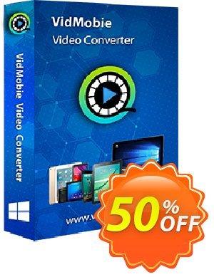 VidMobie Video Converter (Lifetime License) discount coupon Coupon code VidMobie Video Converter (Lifetime License) - VidMobie Video Converter (Lifetime License) offer from VidMobie Software