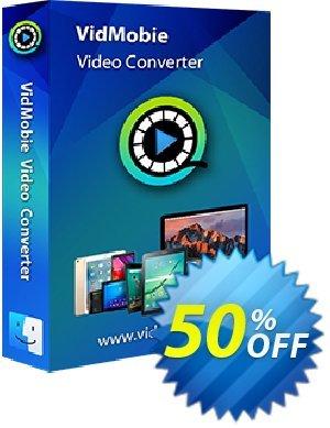 VidMobie Video Converter for Mac (Lifetime License) discount coupon Coupon code VidMobie Video Converter for Mac (Lifetime License) - VidMobie Video Converter for Mac (Lifetime License) offer from VidMobie Software