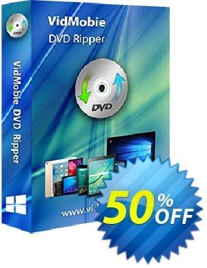VidMobie DVD Ripper (1 Year Subscription) discount coupon Coupon code VidMobie DVD Ripper (1 Year Subscription) - VidMobie DVD Ripper (1 Year Subscription) offer from VidMobie Software