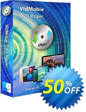 VidMobie DVD Ripper for Mac (1 Year Subscription) discount coupon Coupon code VidMobie DVD Ripper for Mac (1 Year Subscription) - VidMobie DVD Ripper for Mac (1 Year Subscription) offer from VidMobie Software