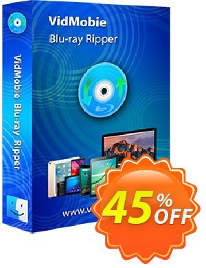 VidMobie Blu-ray Ripper for Mac (1 Year Subscription) Coupon discount Coupon code VidMobie Blu-ray Ripper for Mac (1 Year Subscription)