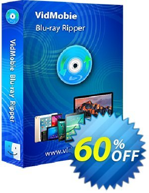 VidMobie Blu-ray Ripper for Mac (Lifetime License) discount coupon Coupon code VidMobie Blu-ray Ripper for Mac (Lifetime License) - VidMobie Blu-ray Ripper for Mac (Lifetime License) offer from VidMobie Software