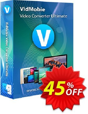 VidMobie Video Converter Ultimate for Mac (Lifetime License) discount coupon Coupon code VidMobie Video Converter Ultimate for Mac (Lifetime License) - VidMobie Video Converter Ultimate for Mac (Lifetime License) offer from VidMobie Software
