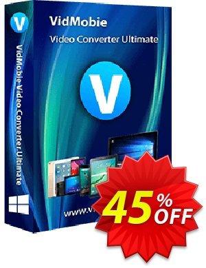 VidMobie Video Converter Ultimate (1 Year Subscription) 優惠券,折扣碼 Coupon code VidMobie Video Converter Ultimate (1 Year Subscription),促銷代碼: VidMobie Video Converter Ultimate (1 Year Subscription) offer from VidMobie Software