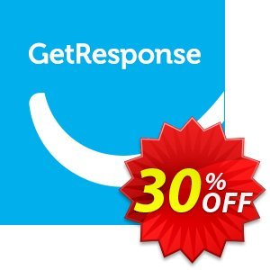 GetResponse BASIC discount coupon 30% OFF GetResponse BASIC, verified - Super sales code of GetResponse BASIC, tested & approved