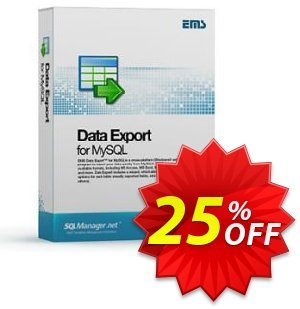 EMS Data Export for MySQL (Business) + 1 Year Maintenance Coupon, discount Coupon code EMS Data Export for MySQL (Business) + 1 Year Maintenance. Promotion: EMS Data Export for MySQL (Business) + 1 Year Maintenance Exclusive offer for iVoicesoft