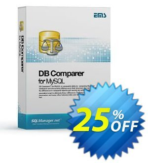 EMS DB Comparer for MySQL (Business) + 1 Year Maintenance discount coupon Coupon code EMS DB Comparer for MySQL (Business) + 1 Year Maintenance - EMS DB Comparer for MySQL (Business) + 1 Year Maintenance Exclusive offer for iVoicesoft