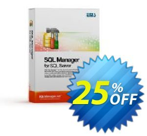 EMS SQL Manager for SQL Server (Business) + 1 Year Maintenance Coupon, discount Coupon code EMS SQL Manager for SQL Server (Business) + 1 Year Maintenance. Promotion: EMS SQL Manager for SQL Server (Business) + 1 Year Maintenance Exclusive offer for iVoicesoft