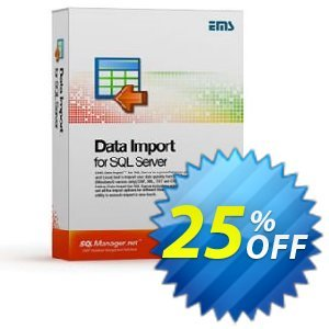 EMS Data Import for SQL Server (Business) + 1 Year Maintenance Coupon, discount Coupon code EMS Data Import for SQL Server (Business) + 1 Year Maintenance. Promotion: EMS Data Import for SQL Server (Business) + 1 Year Maintenance Exclusive offer for iVoicesoft
