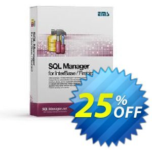 EMS SQL Manager for InterBase/Firebird (Business) + 1 Year Maintenance discount coupon Coupon code EMS SQL Manager for InterBase/Firebird (Business) + 1 Year Maintenance - EMS SQL Manager for InterBase/Firebird (Business) + 1 Year Maintenance Exclusive offer for iVoicesoft