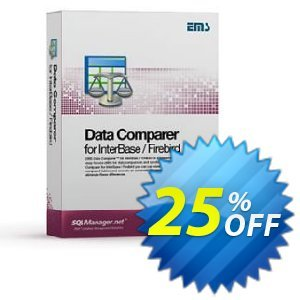 EMS Data Comparer for InterBase/Firebird (Business) + 1 Year Maintenance discount coupon Coupon code EMS Data Comparer for InterBase/Firebird (Business) + 1 Year Maintenance - EMS Data Comparer for InterBase/Firebird (Business) + 1 Year Maintenance Exclusive offer for iVoicesoft
