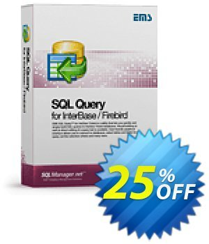 EMS SQL Query for InterBase/Firebird (Business) + 3 Year Maintenance discount coupon Coupon code EMS SQL Query for InterBase/Firebird (Business) + 3 Year Maintenance - EMS SQL Query for InterBase/Firebird (Business) + 3 Year Maintenance Exclusive offer for iVoicesoft