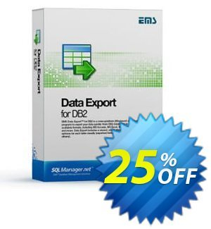 EMS Data Export for DB2 (Business) + 1 Year Maintenance 프로모션 코드 Coupon code EMS Data Export for DB2 (Business) + 1 Year Maintenance 프로모션: EMS Data Export for DB2 (Business) + 1 Year Maintenance Exclusive offer for iVoicesoft