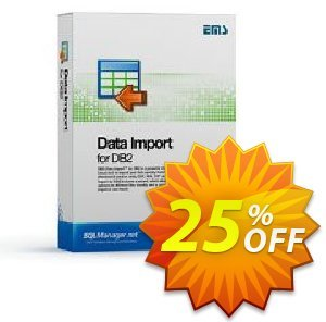 EMS Data Import for DB2 (Business) + 1 Year Maintenance Coupon, discount Coupon code EMS Data Import for DB2 (Business) + 1 Year Maintenance. Promotion: EMS Data Import for DB2 (Business) + 1 Year Maintenance Exclusive offer for iVoicesoft