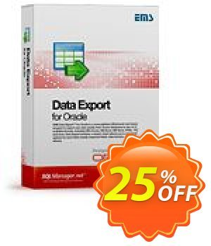 EMS Data Export for Oracle (Business) + 1 Year Maintenance discount coupon Coupon code EMS Data Export for Oracle (Business) + 1 Year Maintenance - EMS Data Export for Oracle (Business) + 1 Year Maintenance Exclusive offer for iVoicesoft
