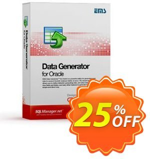 EMS Data Generator for Oracle (Business) + 1 Year Maintenance Coupon, discount Coupon code EMS Data Generator for Oracle (Business) + 1 Year Maintenance. Promotion: EMS Data Generator for Oracle (Business) + 1 Year Maintenance Exclusive offer for iVoicesoft