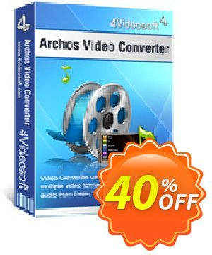 4Videosoft Archos Video Converter Coupon discount 4Videosoft Archos Video Converter formidable discounts code 2020. Promotion: formidable discounts code of 4Videosoft Archos Video Converter 2020