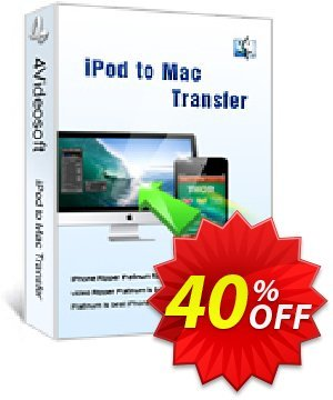 4Videosoft iPod to Mac Transfer Coupon, discount 4Videosoft iPod to Mac Transfer fearsome discounts code 2020. Promotion: fearsome discounts code of 4Videosoft iPod to Mac Transfer 2020
